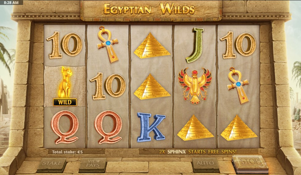 Egyptian Wilds Slot Gameplay