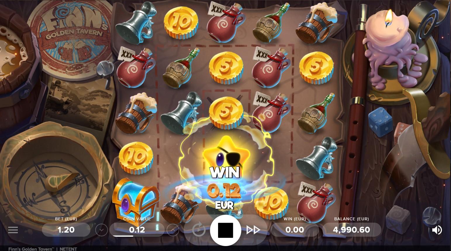 Finn's Golden Tavern Slot Gameplay