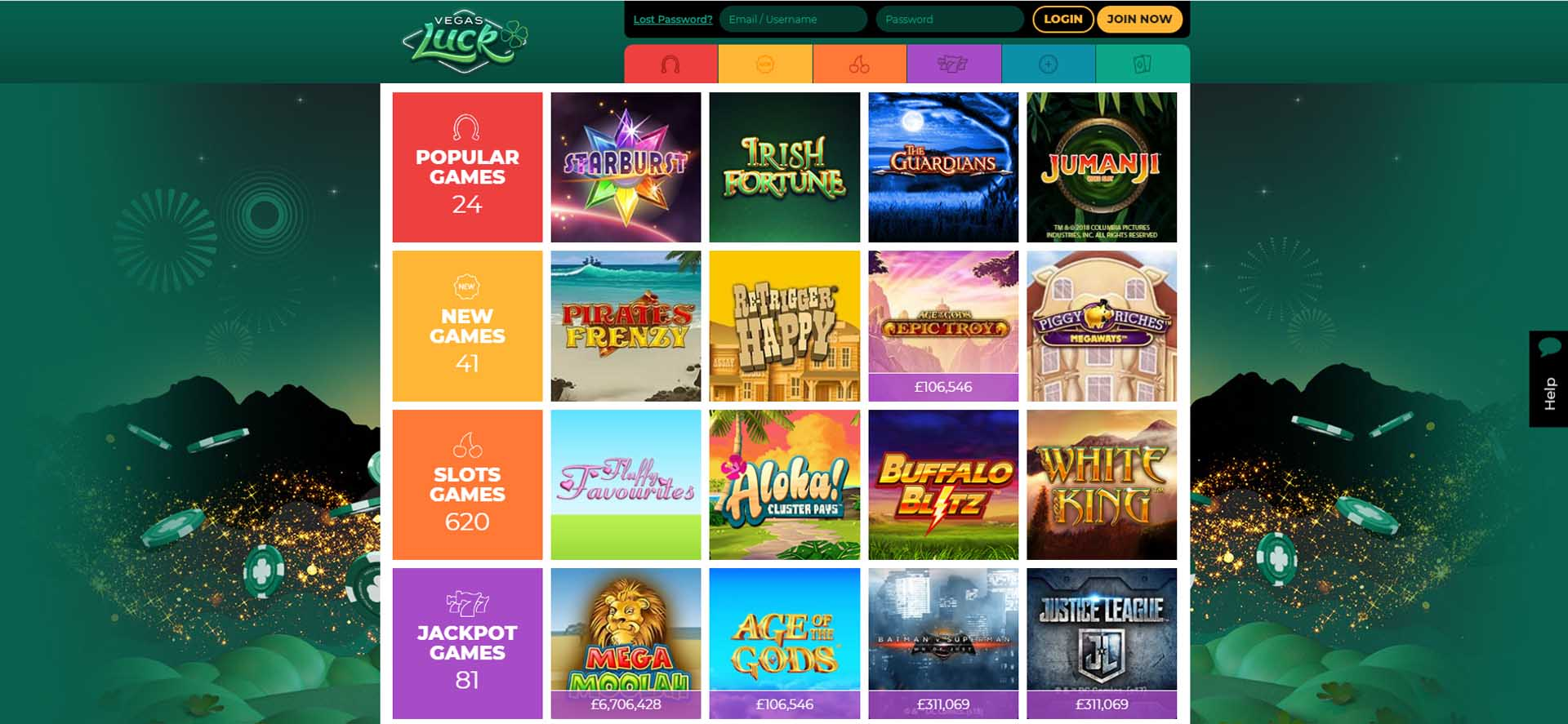 Vegas Luck Online Casino Review and Bonus - AboutSlots
