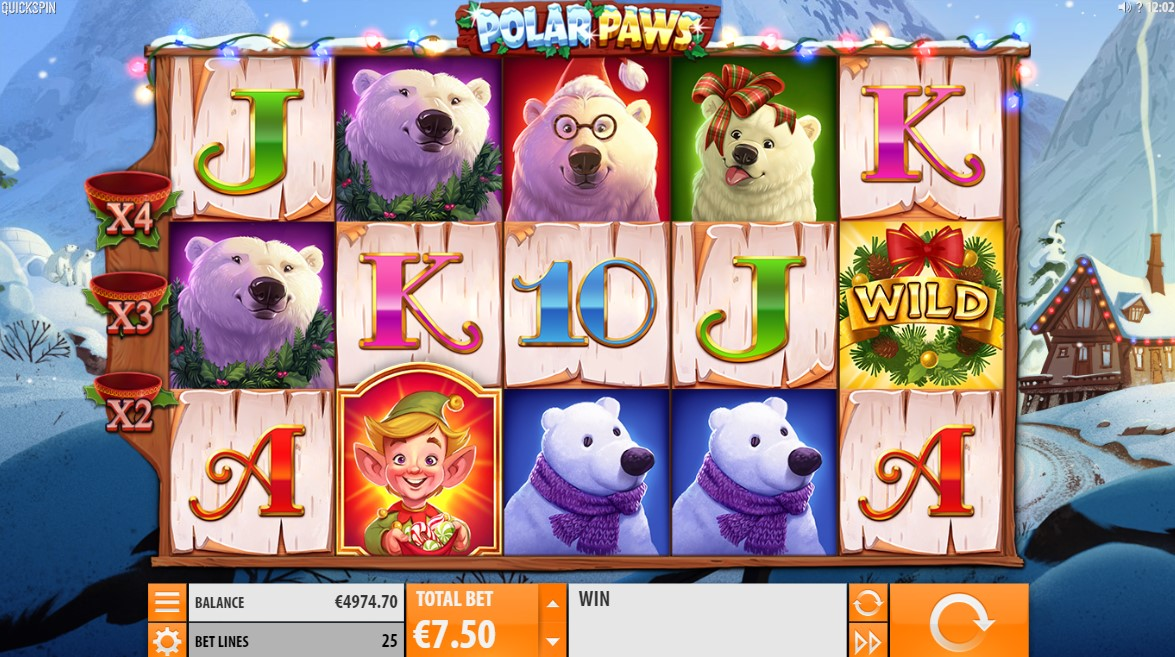 Polar Paws Slot Gameplay