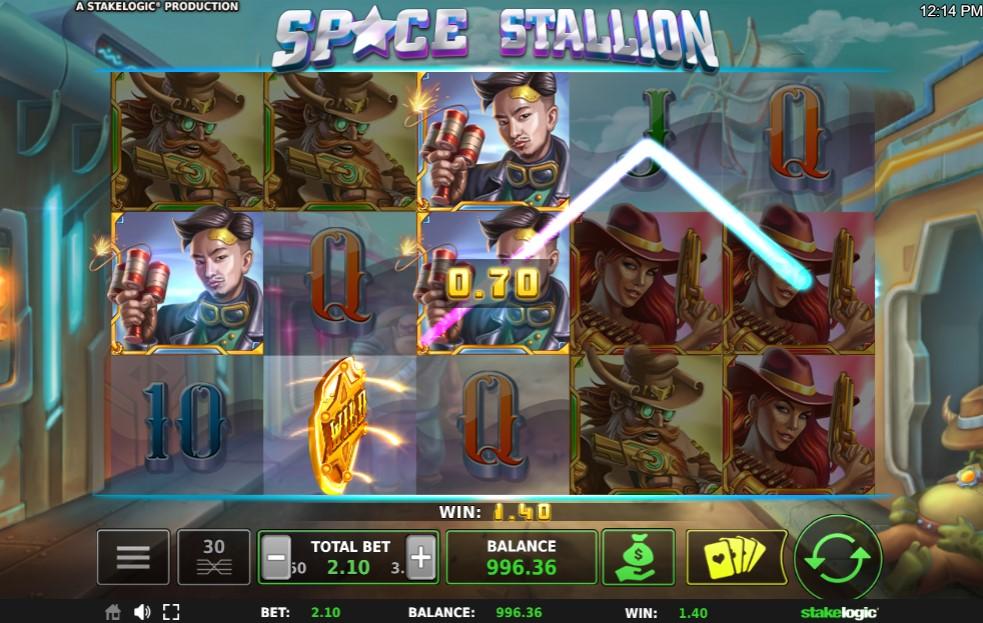 Space Stallion Slot Gameplay