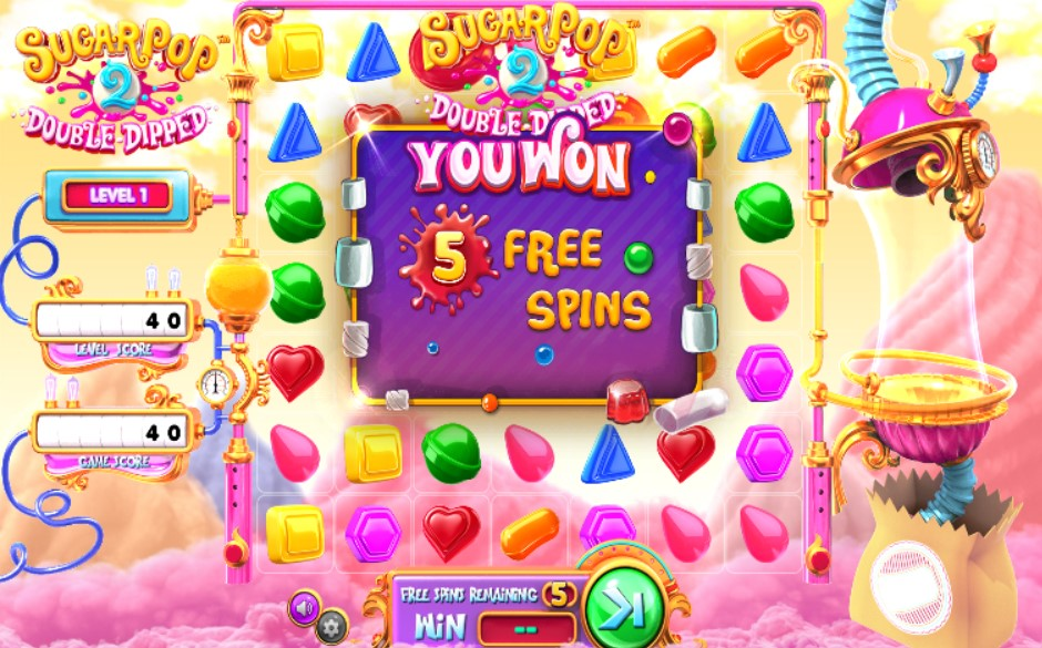 Sugar Pop 2 Double Dipped Slot Gameplay