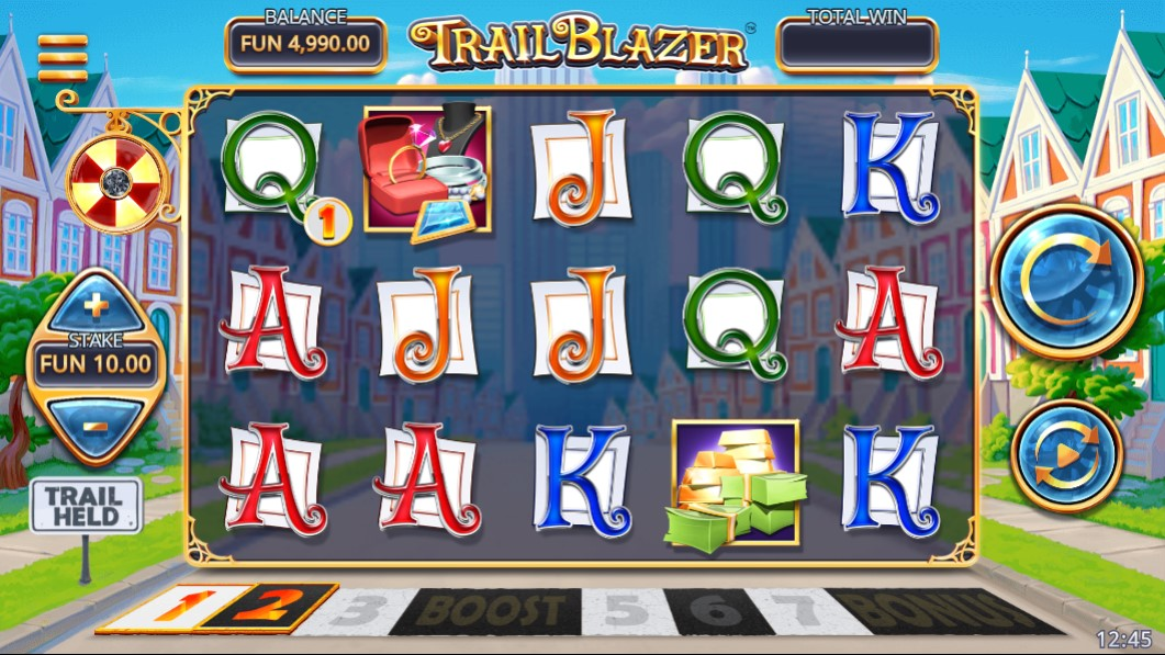 Trail Blazer Slot Gameplay