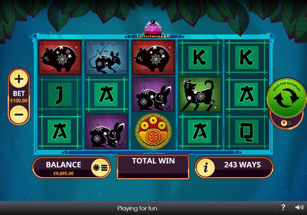 Lotus Heart Slot Gameplay