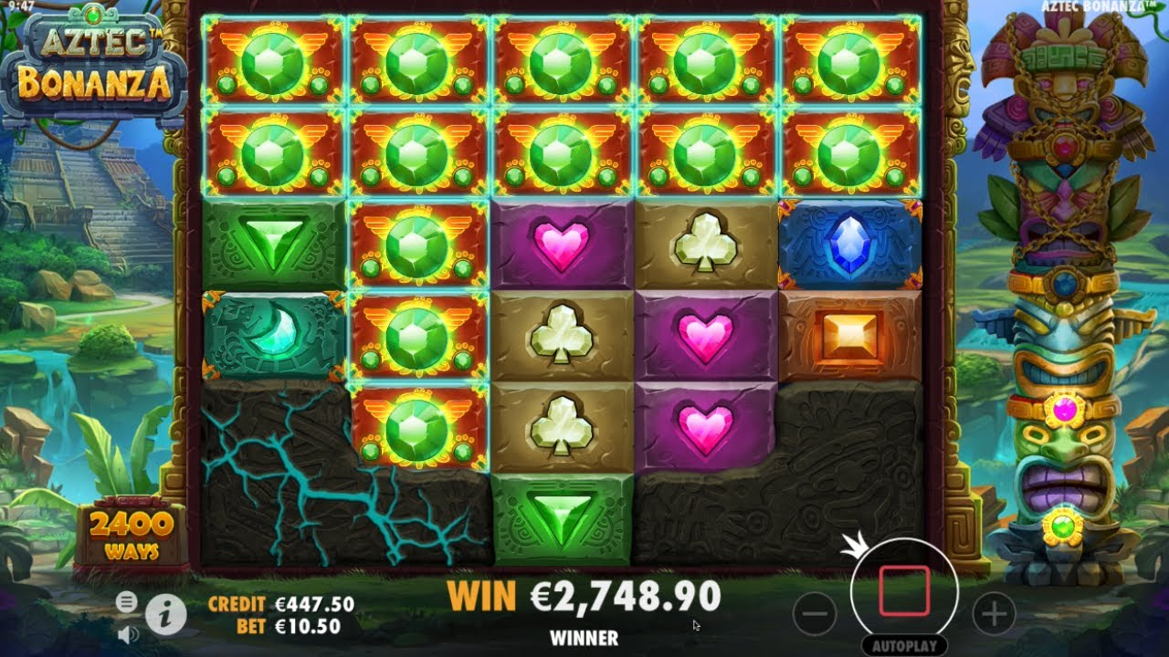 Aztec Bonanza Slot Gameplay