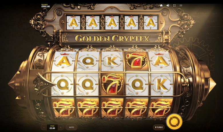 Golden Cryptx Slot Gameplay