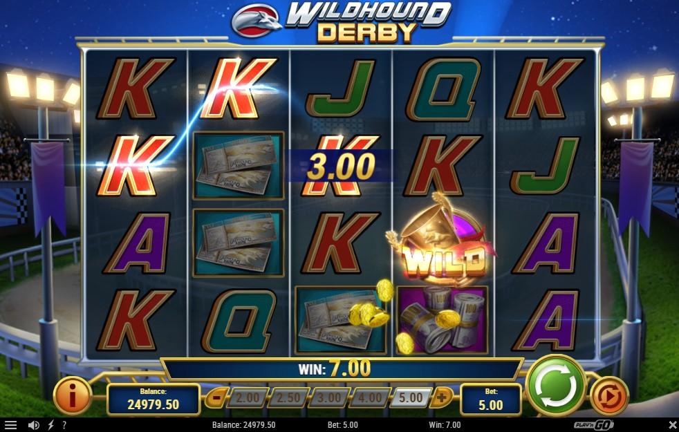 Wildhound Derby Slot Gameplay