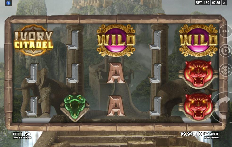 Ivory Citadel Slot Gameplay