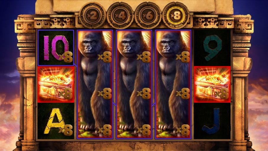 Kong's Temple Slot Gameplay