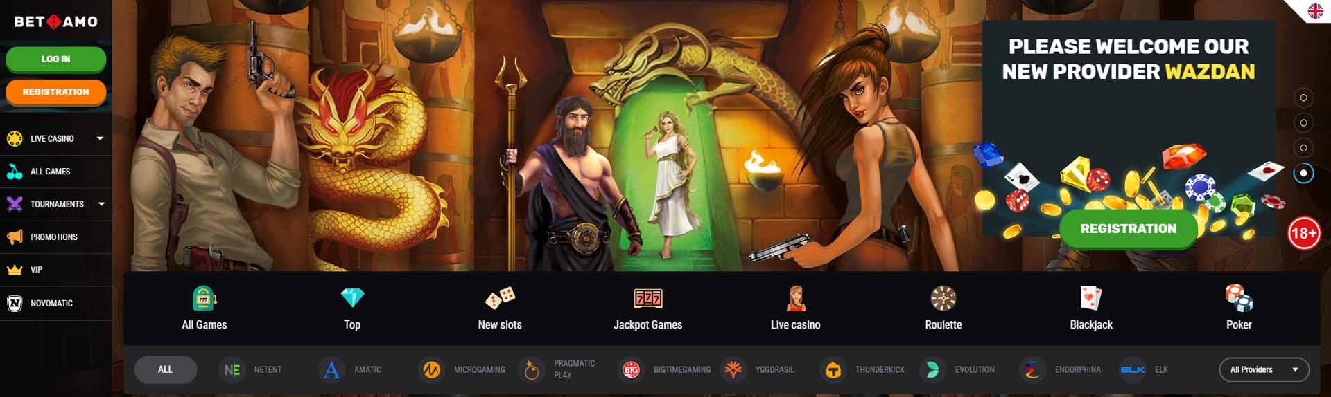 Betamo Online Casino Review And Bonus Aboutslots