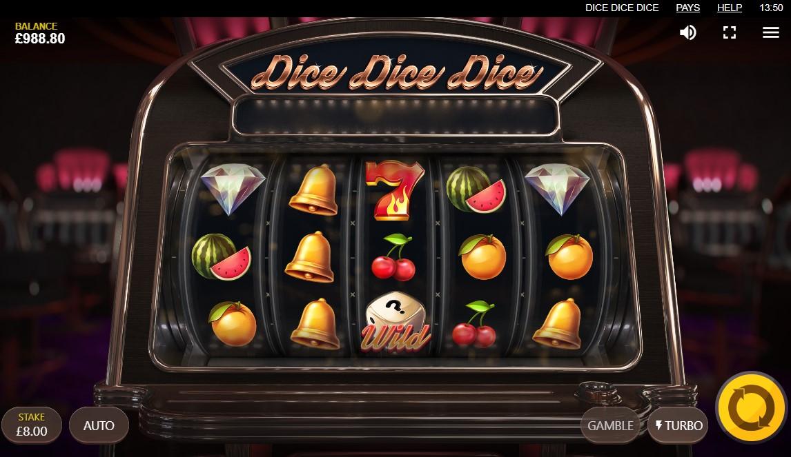 Dice Dice Dice Slot Gameplay