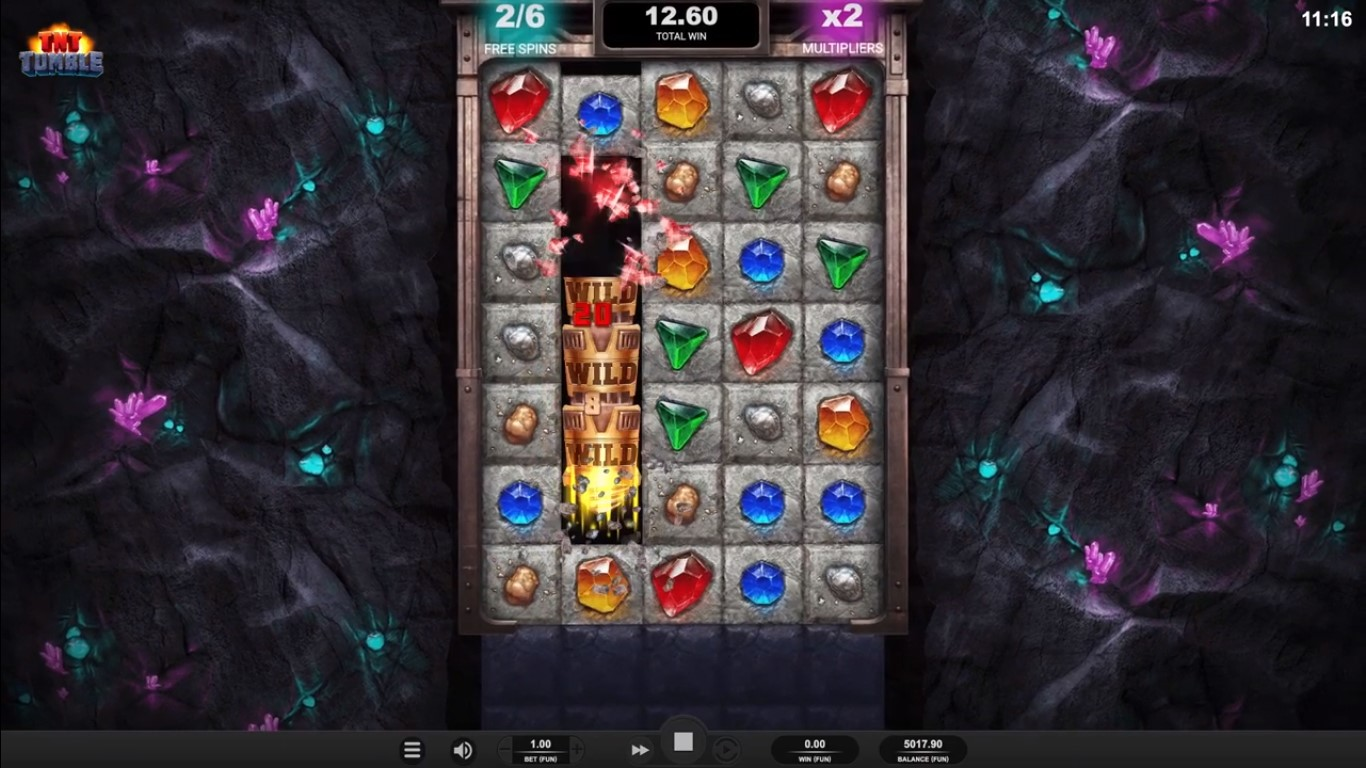 TNT Tumble Slot Gameplay