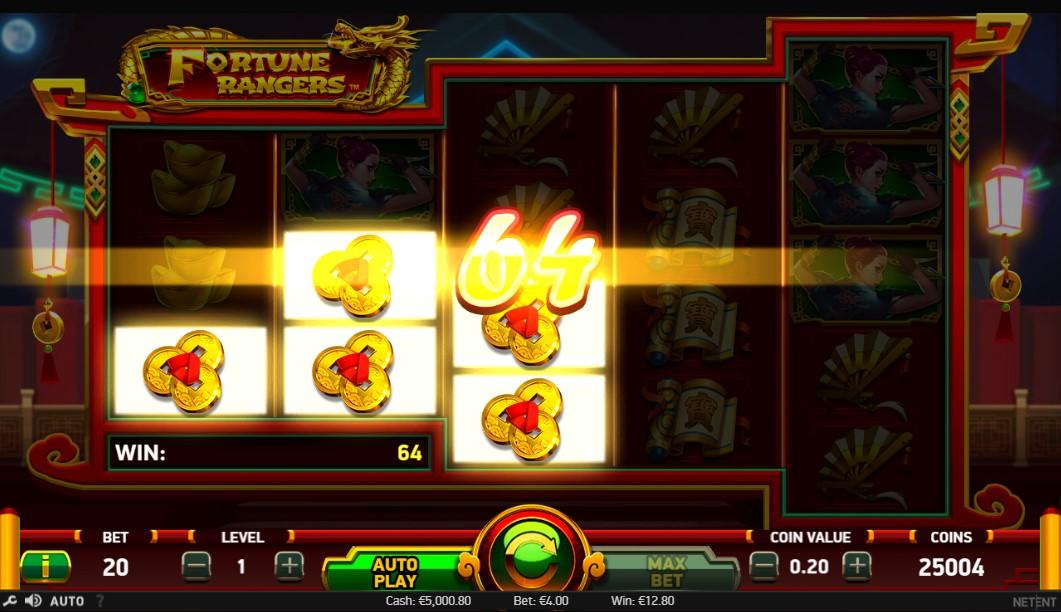 Fortune Rangers Slot Gameplay