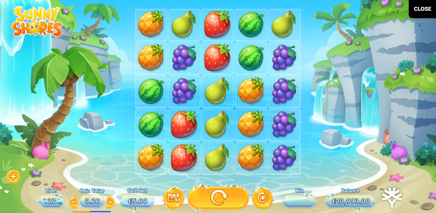 Sunny Shores Slot Gameplay