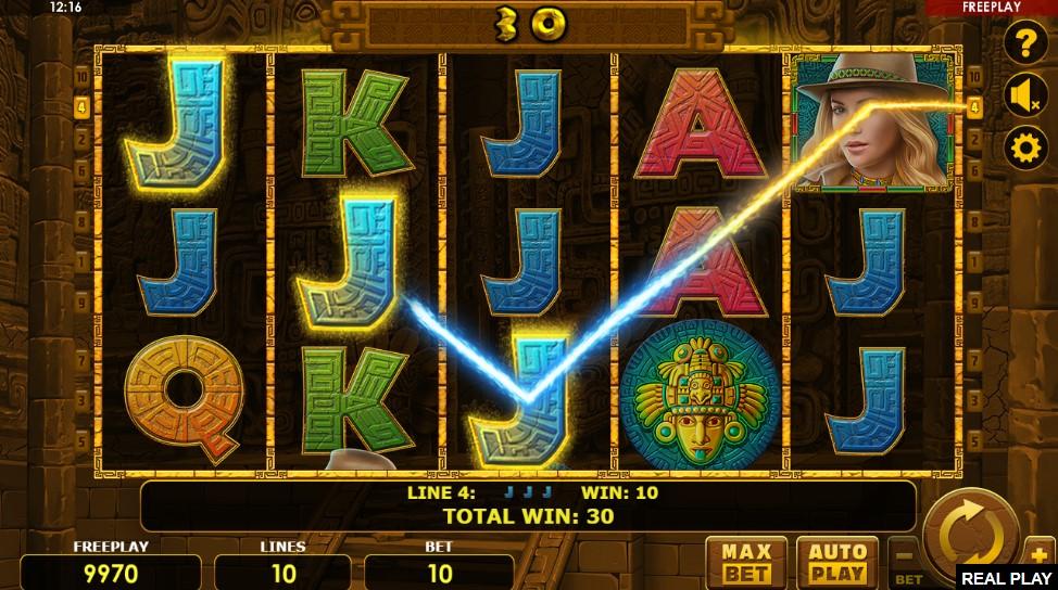 Golden Quest Slot Gameplay