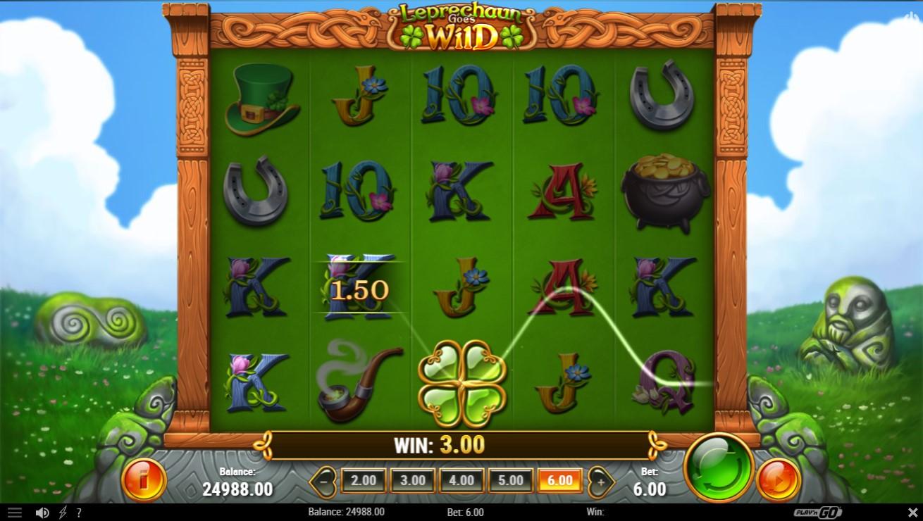 Leprechaun Goes Wild Slot Gameplay