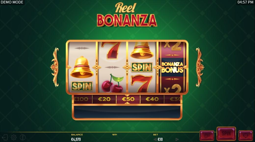 Reel Bonanza Slot Gameplay
