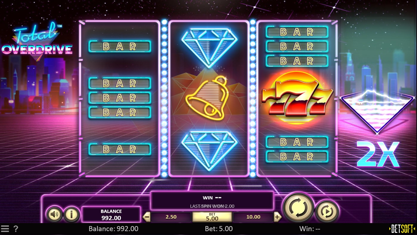 Total Overdrive Slot Gameplay