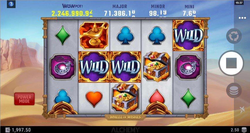 Wheel of Wishes Slot Gameplay