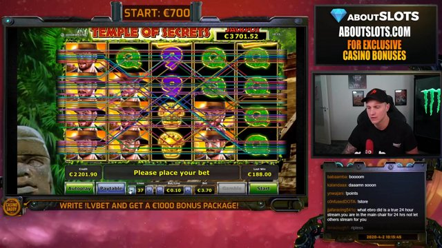 Big top casino register