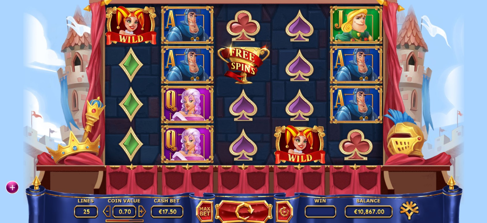 The Royal Family Slot Gameplay