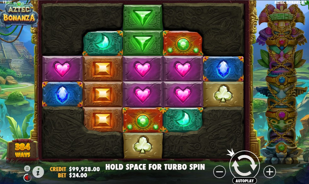 Aztec Bonanza Slot Gameplay
