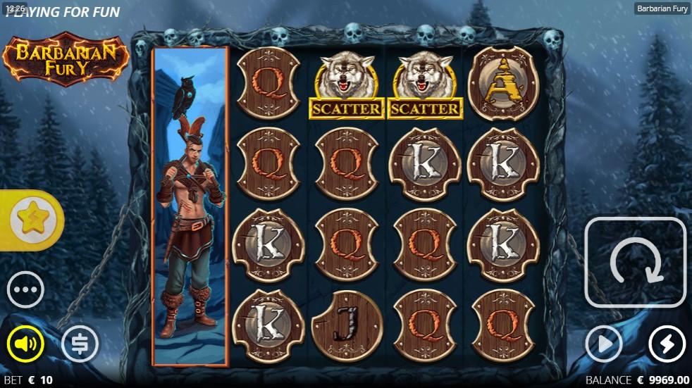 Barbarian Fury Slot Gameplay