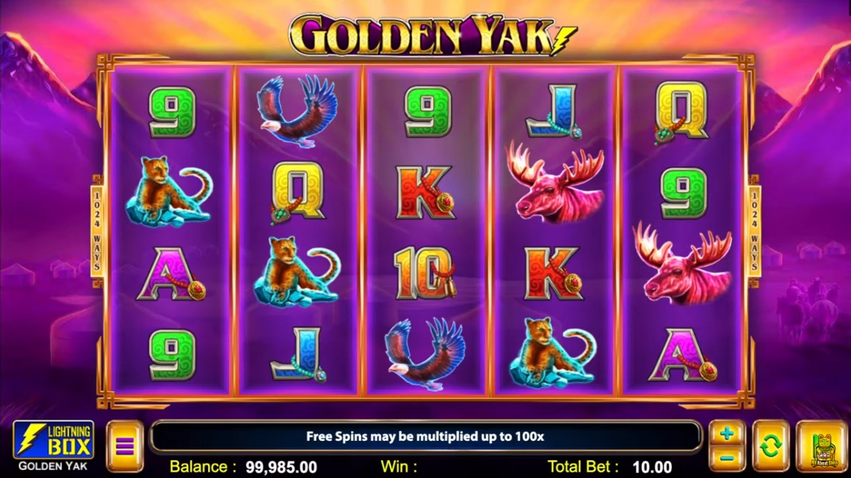 Golden Yak Slot Gameplay