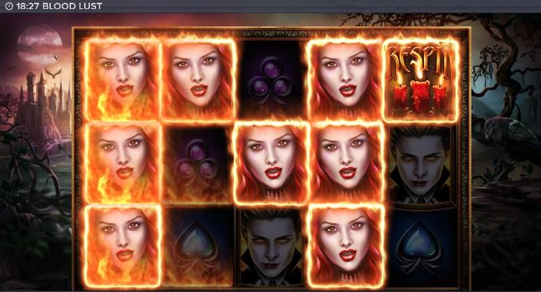 Blood Lust Slot Gameplay