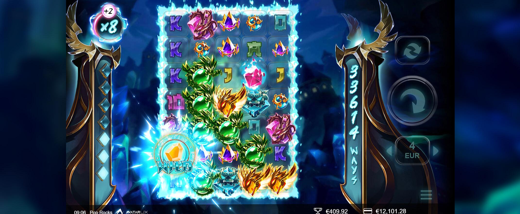 PopRocks Slot Gameplay