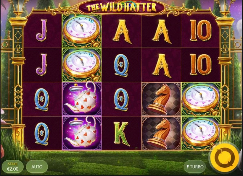 The Wild Hatter Slot Gameplay