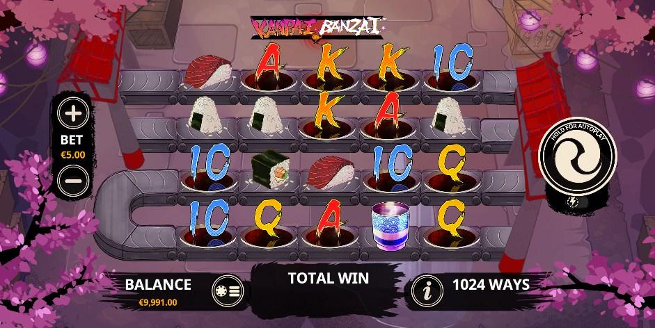 Kanpai Banzai Slot Gameplay