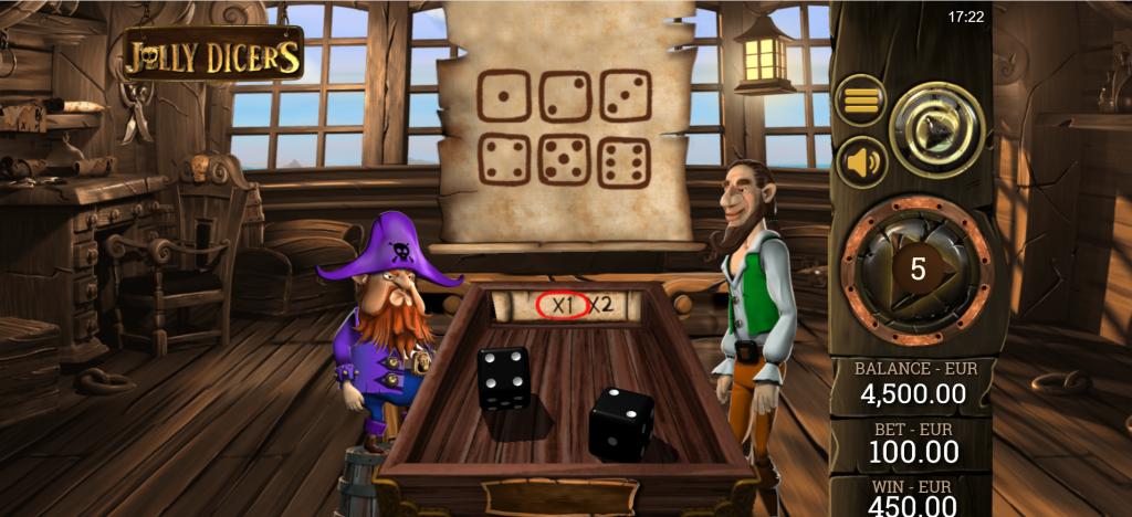 Jolly Dicers Slot Bonus