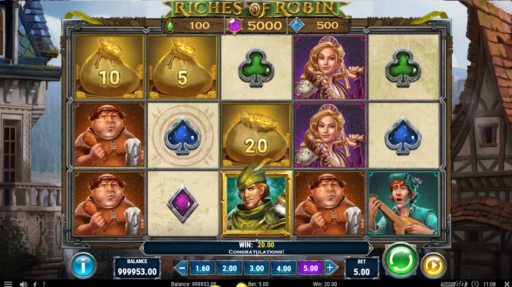 Riches of Robin Slot Gameplay