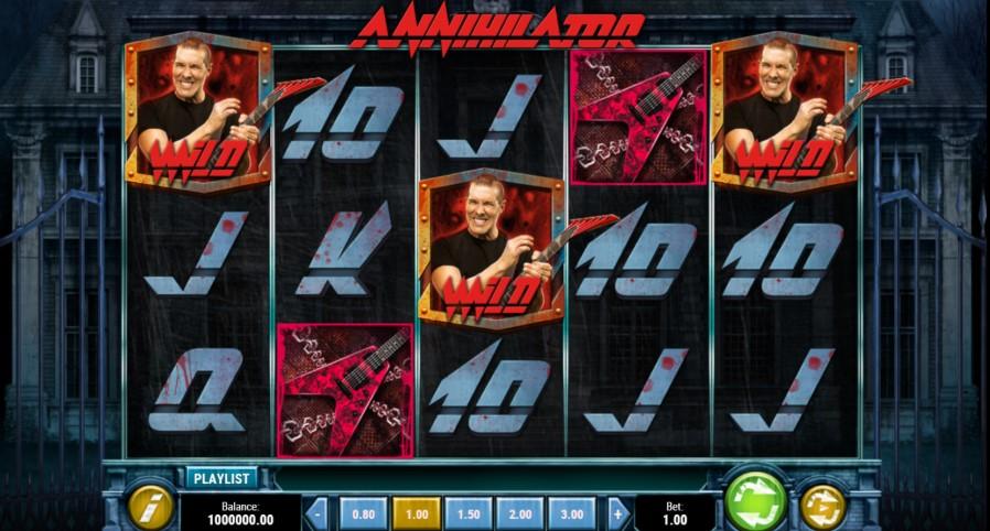 Annihilator Slot Gameplay