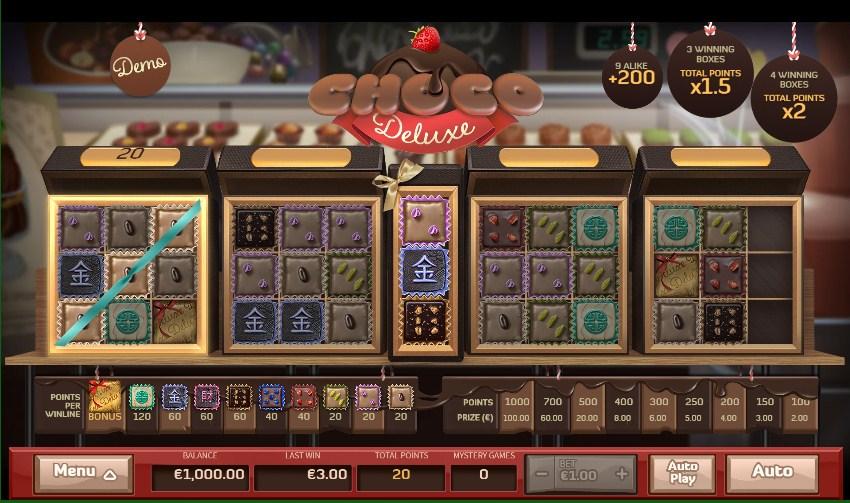 Choco Reels Slot Gameplay