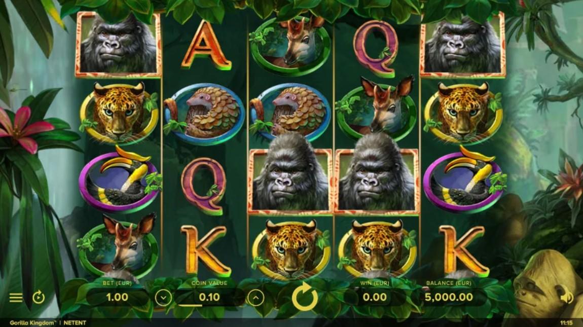 Gorilla Kingdom Slot Gameplay