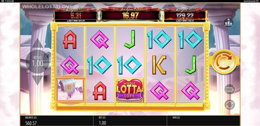 Whole Lotta Love Slot Gameplay