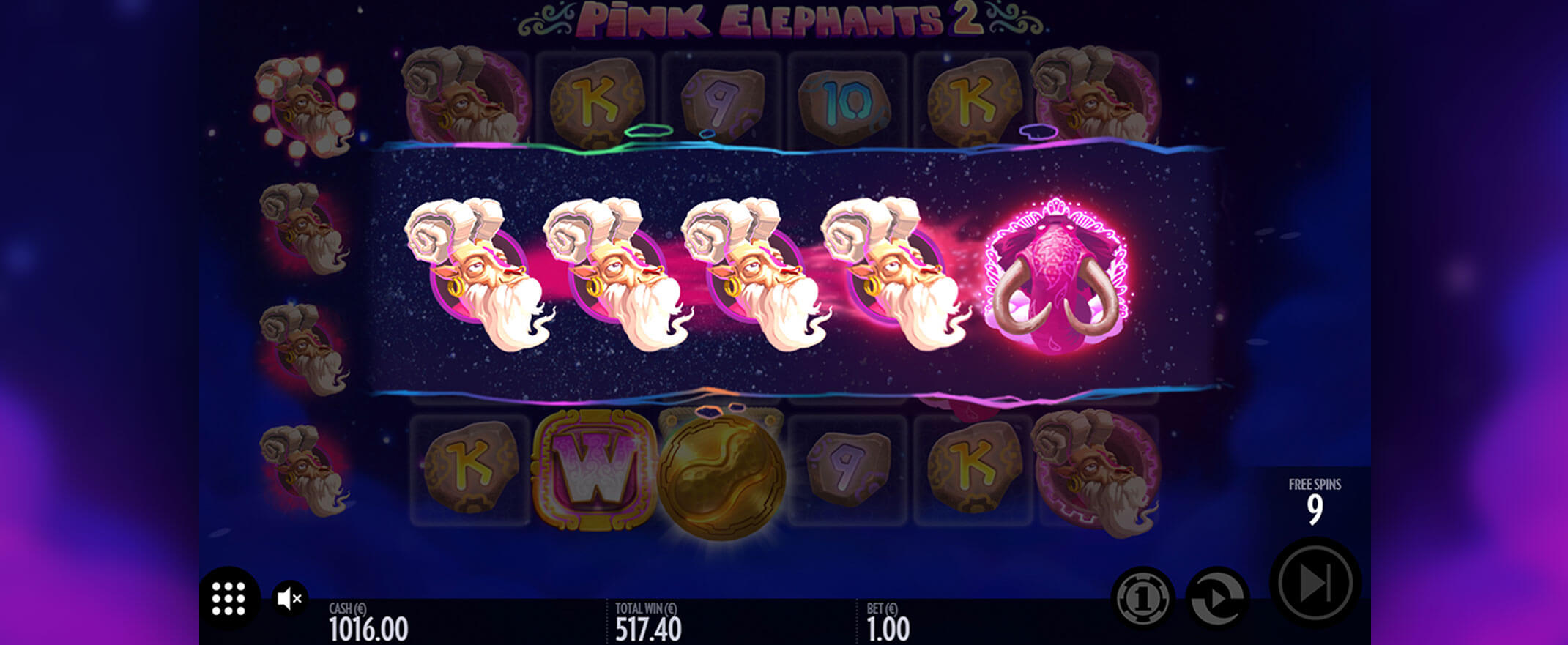 Pink Elephants 2 Slot Bonus