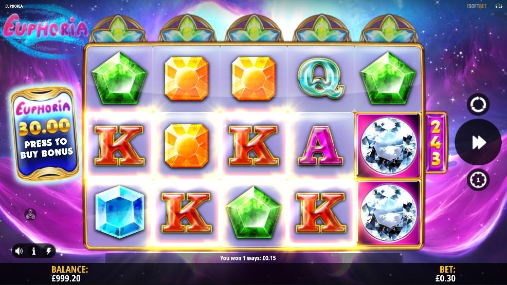 Euphoria Slot Gameplay