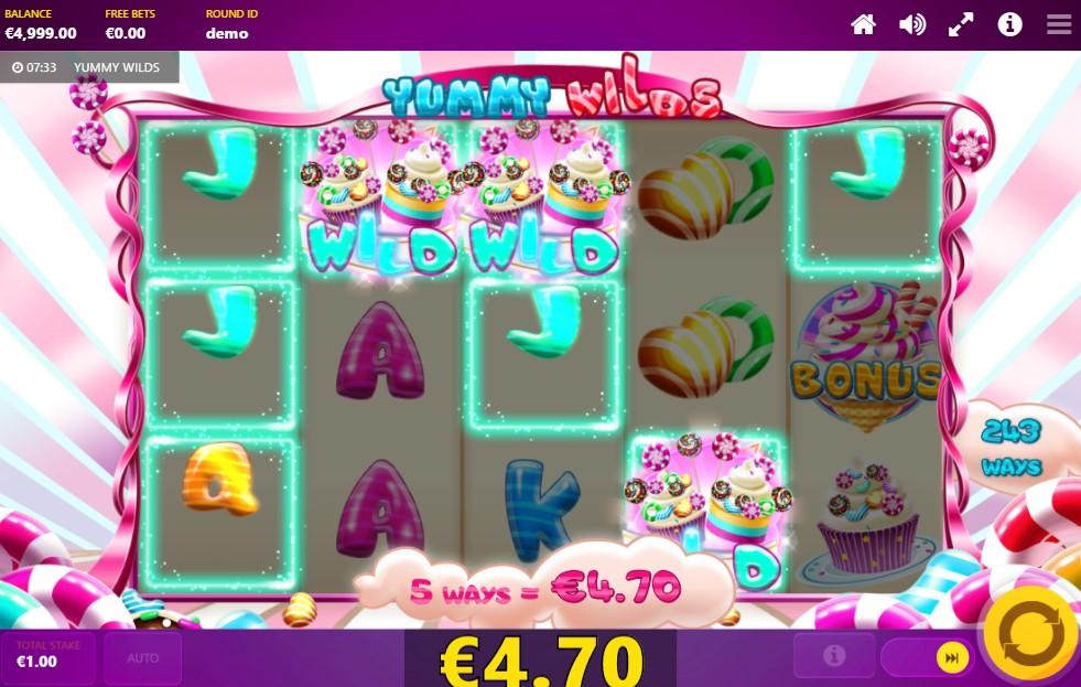 Yummy Wilds Slot Gameplay