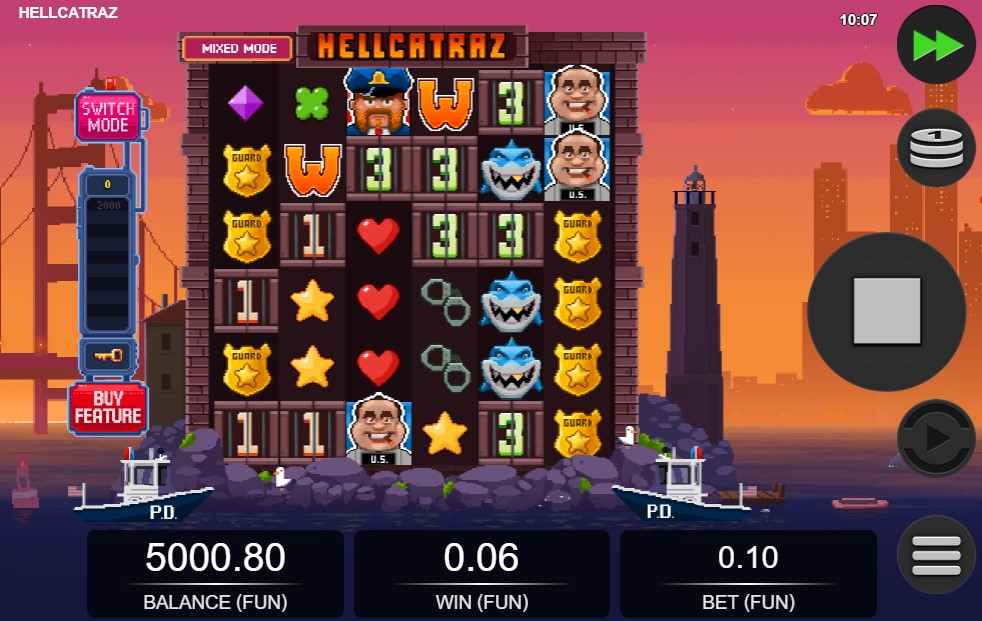 Hellcatraz Slot Gameplay