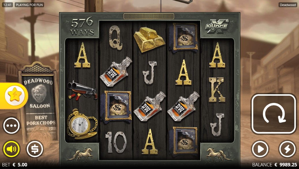 Deadwood Slot Gameplay