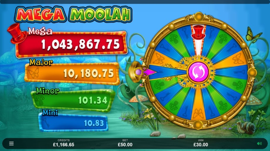 Absolootly Mad Mega Moolah Slot Progressive Jackpot