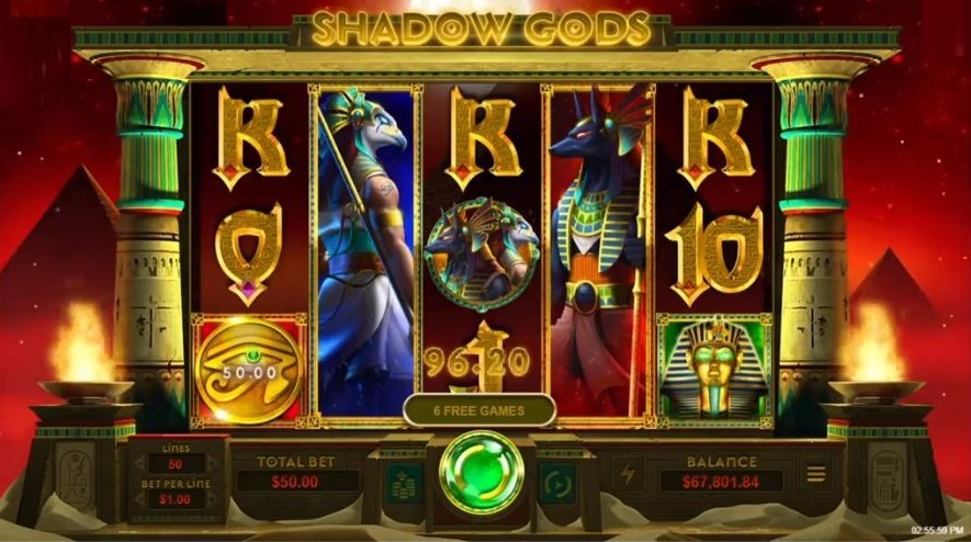 Shadow Gods Slot Free Spins
