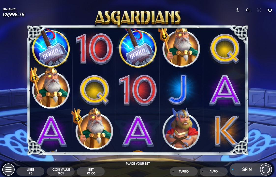 Asgardians Slot Gameplay