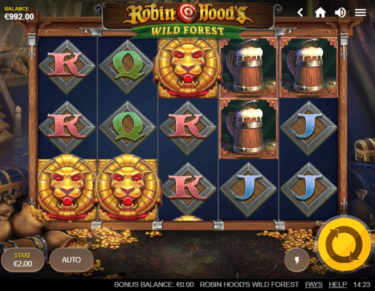 Robin Hood's Wild Forest Slot Gameplay