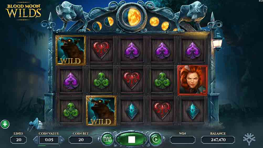 Blood Moon Wilds Slot Gameplay