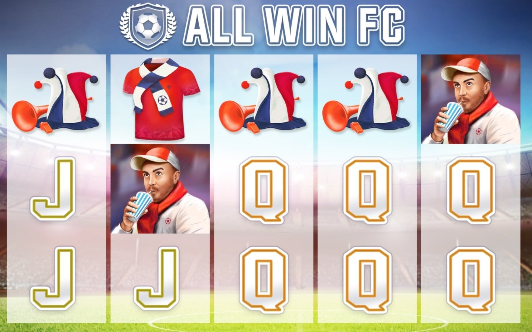All Win FC Slot Gameplay