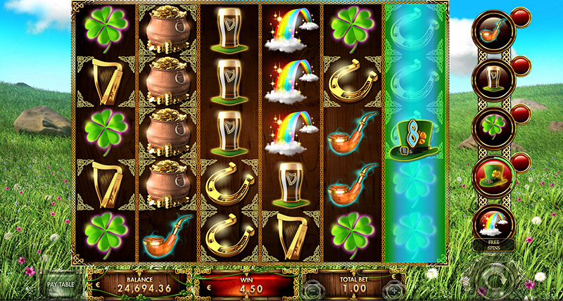 1st of the Irish Slot Gameplay